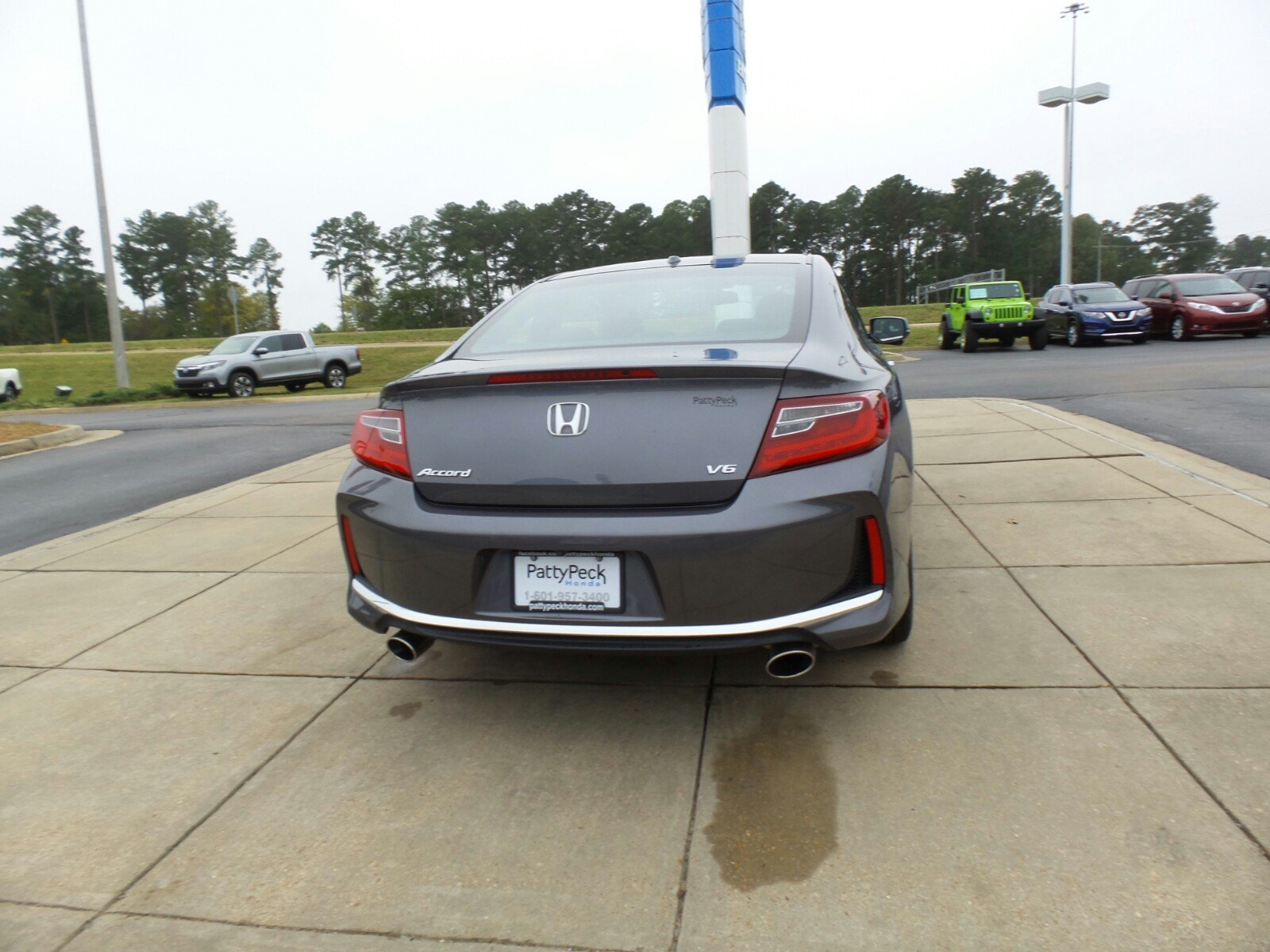 Pre Owned 2016 Honda Accord Coupe EX L 2dr Car in Ridgeland