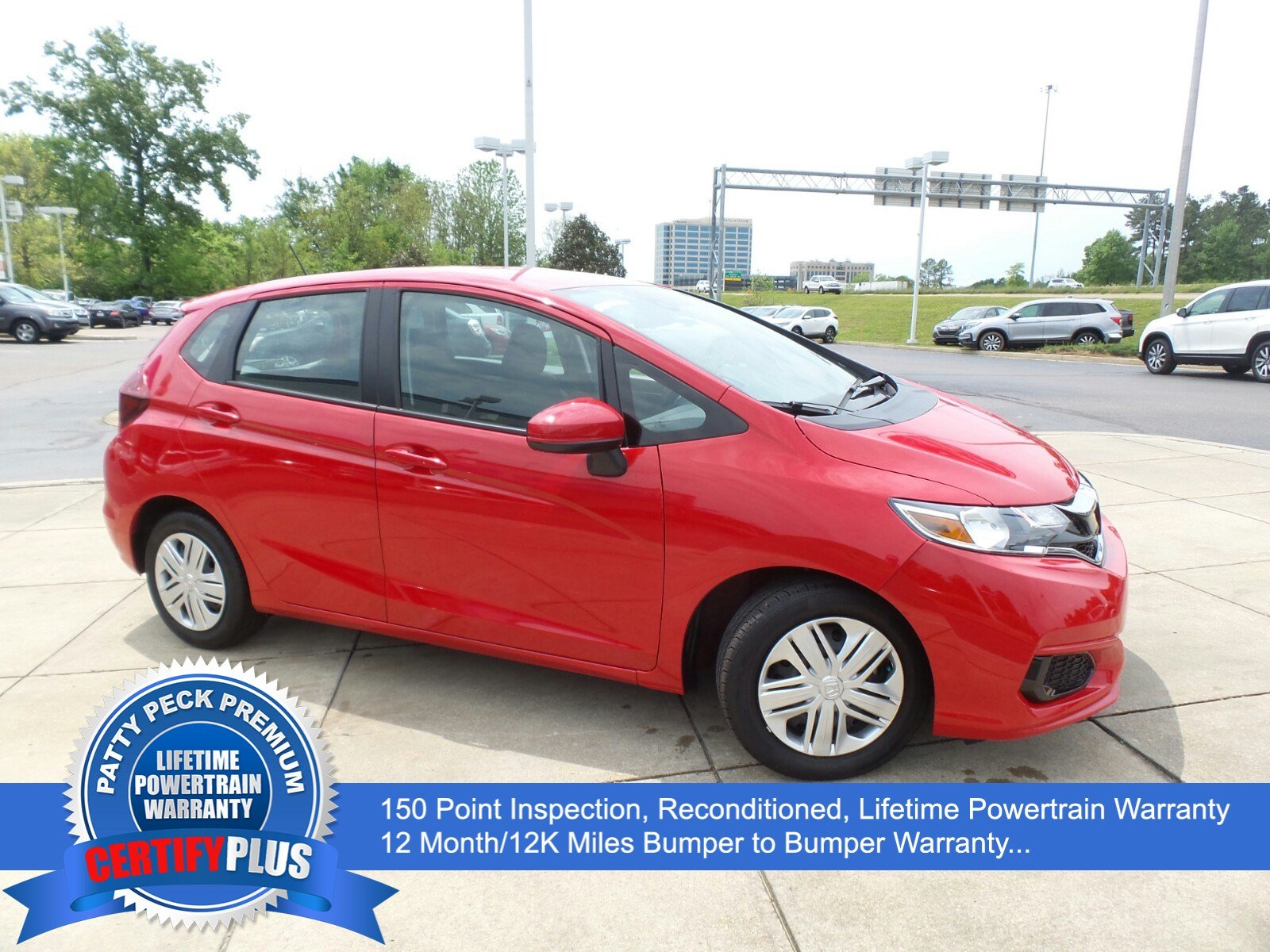 Pre-Owned 2018 Honda Fit LX W/Honda Sensing