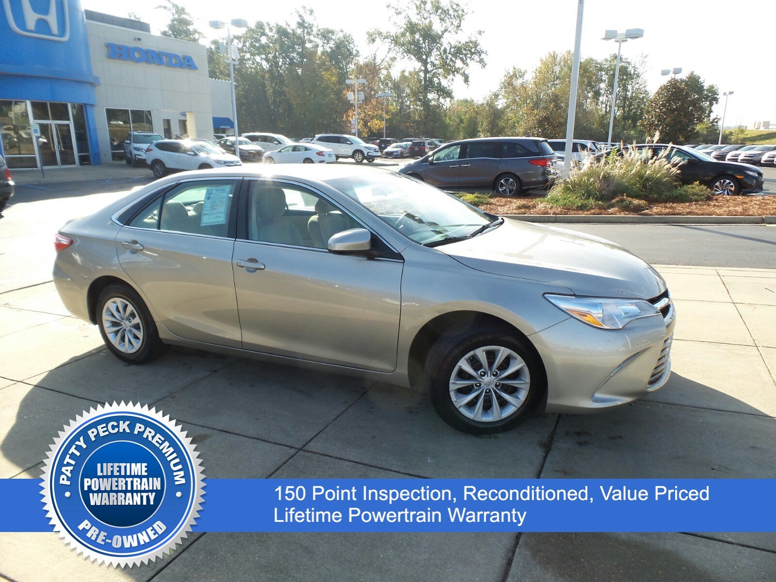 Pre Owned 2015 Toyota Camry LE 4dr Car in Ridgeland A A