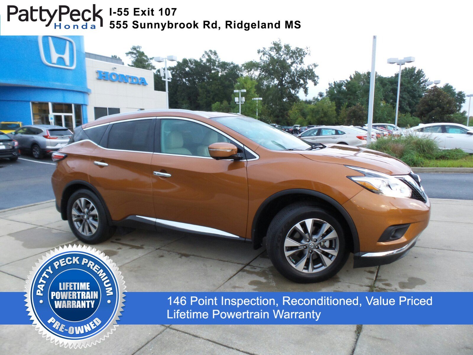 Pre Owned 2015 Nissan Murano SL