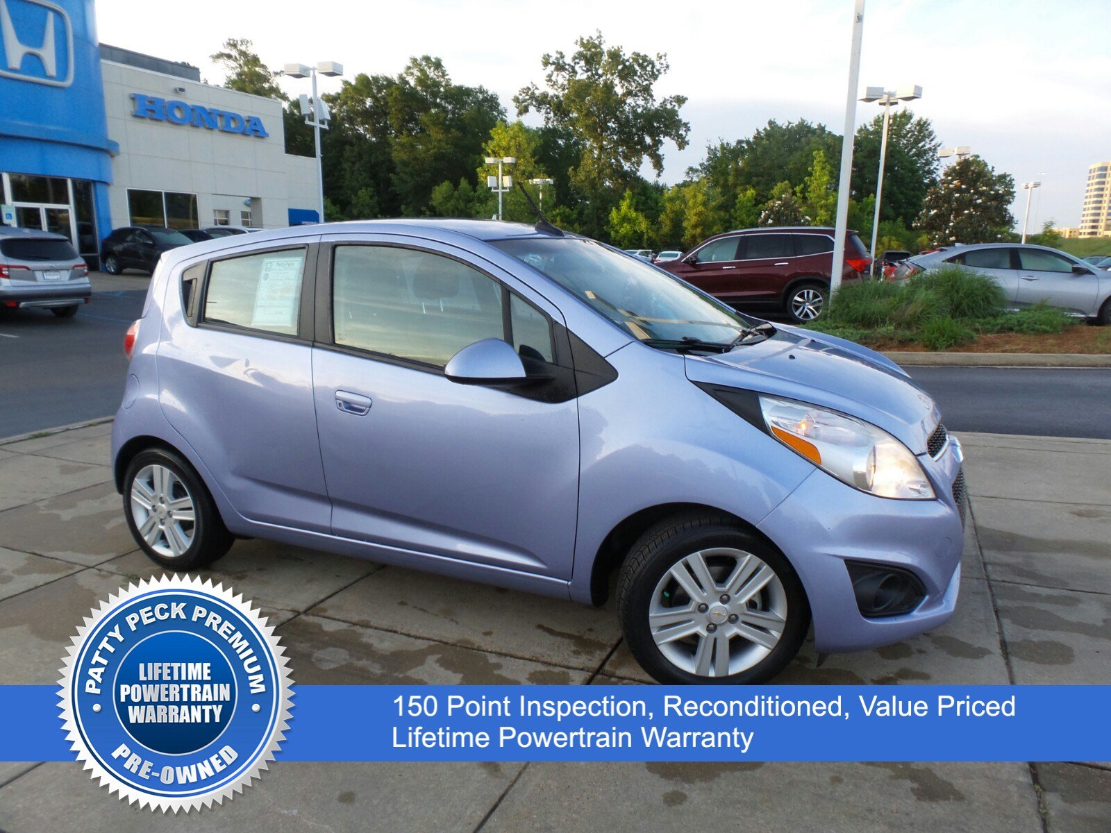 Pre-Owned 2014 Chevrolet Spark LS