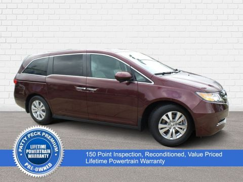 Pre-Owned 2015 Honda Odyssey EX-L w/RES